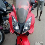 Very Clean Honda Power Bike Red 2012 For Sale