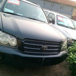 Clean Toyota Highlander 2002 Green