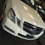 Tokunbo Mercedes Benz E350 4MATIC 2012 Model White Colour