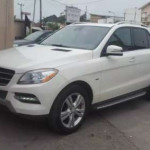 Clean Registered 2012 Mercedes Benz ML350 4matic White