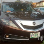 Acura ZDX 2010 Brown