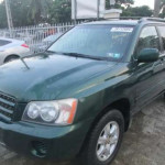 Cleanest Toyota Highlander 02 Tokunbo Going For Give Away Price