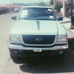 Foreign Used Ford Ranger 2001 Silver