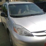 A very clean toyota sienna for auction sale