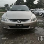 Honda Accord 2003 Gold