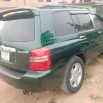 Extremely clean nigeria used Toyota highlander ( limited)available