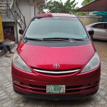 Toyota Previa 2001 Automatic Red