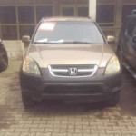 Honda CR-V 2002 Automatic Gold