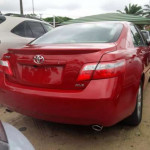 A Toyota Camry for auction sale