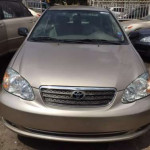 Clean Toyota Corolla for sale at give away price