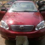 Toyota Corolla 2004 Red