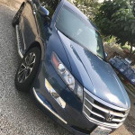 Honda Accord Crosstour 2011 Blue