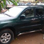 Toyota Highlander 2002 Green