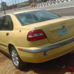 Volvo S40 with manual gear