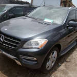 2012 Mercedes Benz ML 350 Black