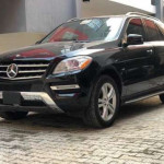 Foreign used 2012 Mercedes Benz ML350