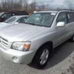 Foreign used Toyota Highlander 2002