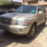 Very Neat Toyota highlander 2002 for sale