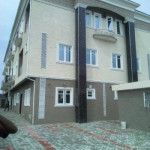 3 bedroom terraced duplex for rent Spg Opposite Piccadilly Agungi Before Igboefon Round About, Igbo Efon, Lekki, Lagos