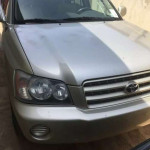 Toyota Highlander for sale with Good Engine  and gear ,