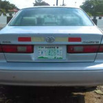 Clean first body Toyota Camry