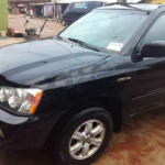 Black Toyota Highlander 2002 for sale
