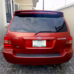 Registered TOYOTA HIGHLANDER 2002 Model