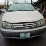 Toyota Sienna 2002model first paint