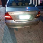 Mercedes-Benz C320 2005 Gold