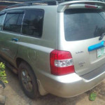Toyota Highlander for sale very clean