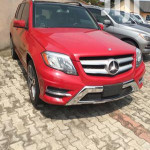Mercedes-Benz GLK-Class 2014 350 Red
