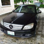Barely used benz