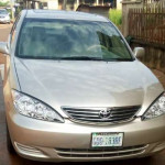 Toyota Camry XLE 2004 mint
