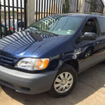 SOLD! Tokunbo Toyota Sienna LE