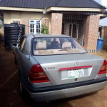 Fairly used and well maintained Mercedes Benz C-Class,