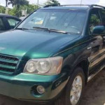 2004 Toyota Highlander Green