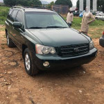 Toyota Highlander 2003 Green