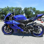 Clean Neat Yamaha YZF-R Power Bike 2017 Blue For Sale