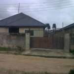 Semi-detached bungalow for sale Off Airport Road,close To Old Airport, Effurun, Uvwie, Delta