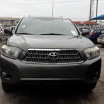 Toyota Highlander 2009 Hybrid Limited Green