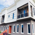 3 bedroom terraced duplex for sale Orchid Hotel Road, Chevy View Estate, Lekki, Lagos