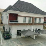 Semi-detached duplex for sale Osapa, Lekki, Lagos