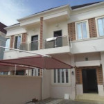 4 bedroom semi-detached duplex for rent Westend Estate, Ikota Villa Estate, Lekki, Lagos