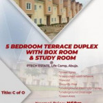 5 bedroom terraced duplex for sale Life Camp Abuja, Central Business District, Abuja