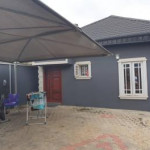 3 bedroom detached bungalow for sale Beckley Estate New Oko Oba, Abule Egba, Agege, Lagos