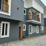 4 bedroom terraced duplex for sale Canoe, Near Petrocam Filing Station, Ajao Estate, Isolo, Lagos